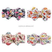 Children fabric <strong>headband</strong> ,printing hair accessories for women <strong>headband</strong>