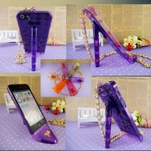 Best selling plastic cell phone case for apple iphone 6 sexy lady high heel shoes accessories for iphone 6 plus wholesale