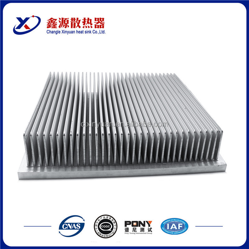 CNC new products hot selling online alibaba com high quality extrusion aluminum alloy heat sink for dissipation radiator