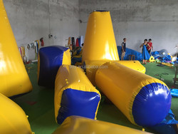 inflatable paintball obstacle paintball filed, giant cheap PVC inflatable paintball air field for sale