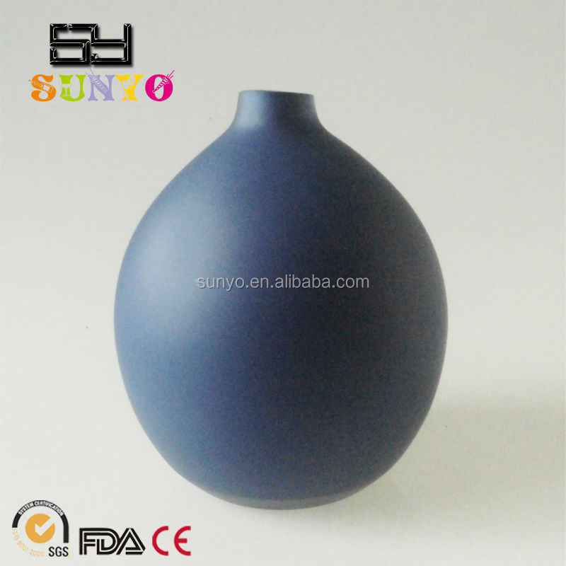 Unique Design Transparent Good Quality Frosted Colored Glass Vase for Home Decor