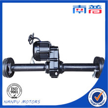 Rear axle for three wheel motorcycle/ tricycle
