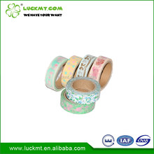 Custom Printed Decoration Washi Paper Tape Removable
