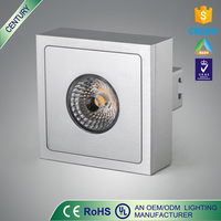 Free sample IP20 10W metal glass LED cob shop ceiling lights