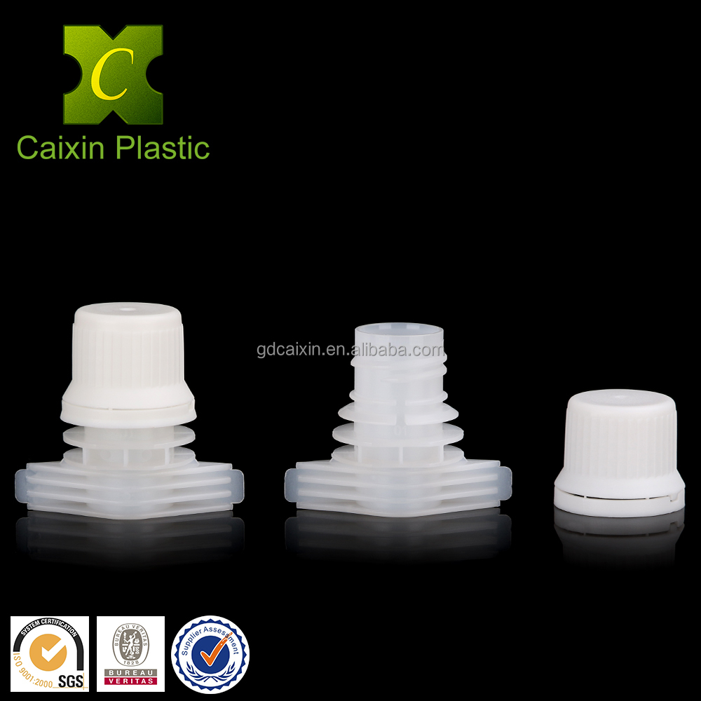 Food grade PP and PE plastic spout China manufacturer