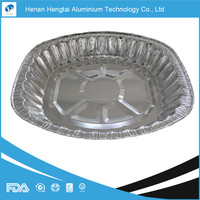 GIANT OVAL ROASTING ALUMINUM FOIL TRAY certified with FDA, SGS, HACCP, KOSHER