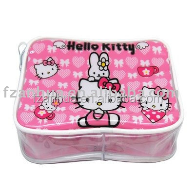 NCB049 beautiful transparent PVC Cosmetic Case