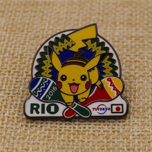 Pokemon lapel pin badge hard enamel cartoon badge wholesale