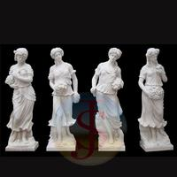 Popular Design marble lying nude sexy lady statue