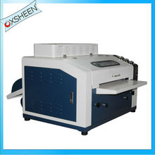 8 uv coater laminator machine, automatic uv coater, spot uv coater