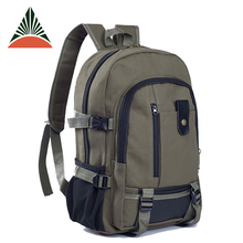 OEM Factory Vintage Casual Custom Canvas Laptop Backpack For Men
