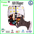 Happy flute AIO absorbent diaper washable diaper one size pocket nappy