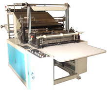Plastic HDPE LDPE PE Carry Bag Making Machine Price, Bag Forming Machine