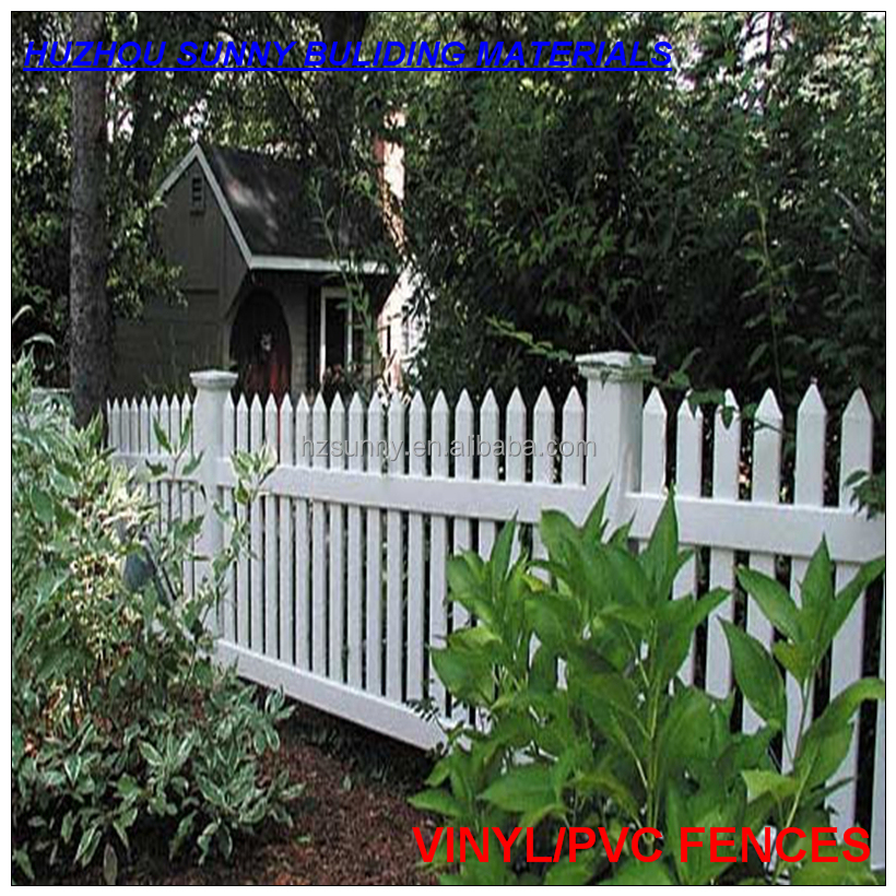 Vinyl Picket Fence 62