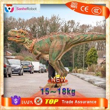 Realistic Performance Puppet,Attractive animatronic dinosaur costume for Sale