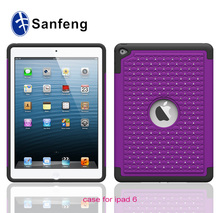 Hot new arrival 2015 mobile accessories case for ipad air2 with jewels