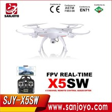 Best RC Drone for Sale Syma X5SW Wifi FPV Real-time RC Quadcopter Drone with 2MP HD Camera Latest Version