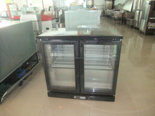 TG-200M2 Single temperature refrigerator type glass door mini refrigerator cabinet with CE in china