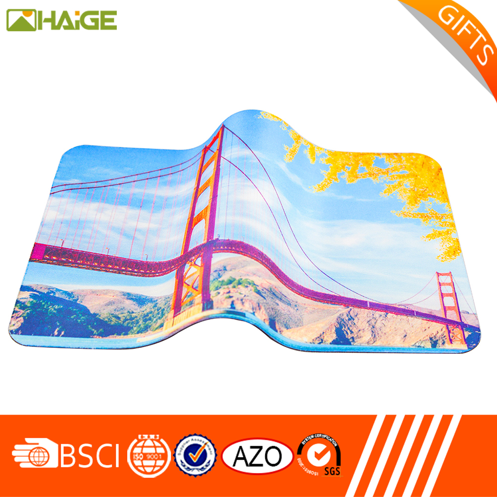 China cheap printable woven rug mouse pads for wholesale