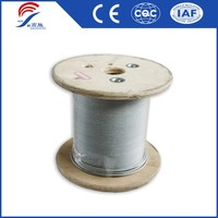 6x19+FC Long Life Hot Dipped Galvanized Steel Wire Rope