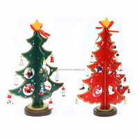 Factory Manufacturer mini table XMAS trees Decoration wood christmas tree