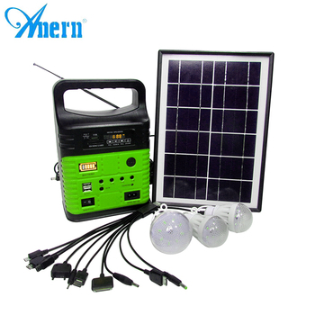 Hours working time 10w industrial solar power generator