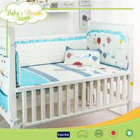 BBS406 Cotton desinger bedding pigment printed textile, baby bedding wholesale