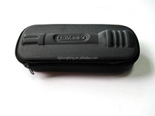 Black Portable molded hard eva tool case with logo embossed