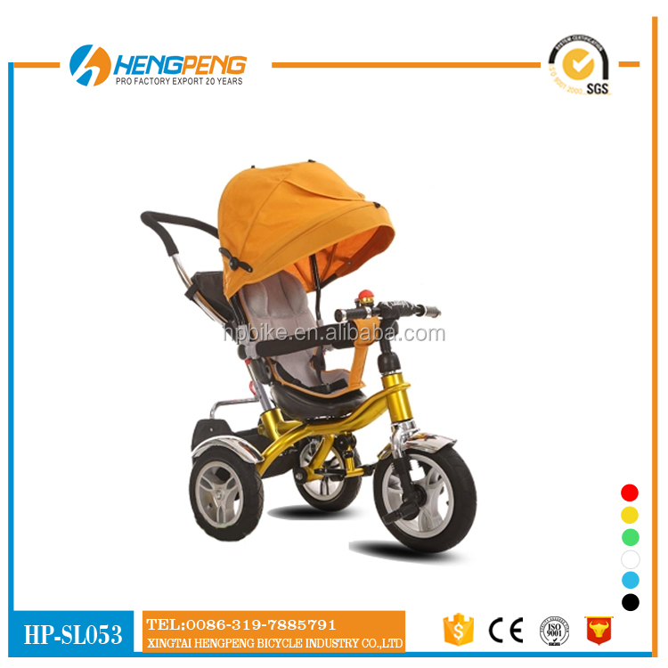 2016 Kids Trike Three Wheels tricycle Bike With Canopy high landscape baby stroller tricyce bicycle