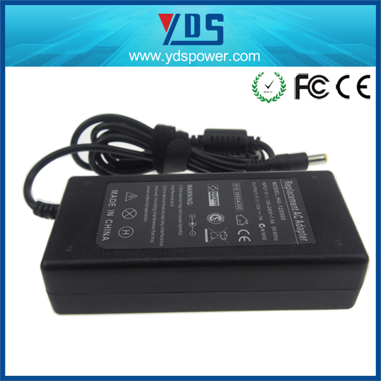 CE/FCC/RoHS-Approved 84W AC/DC 12V 7A Desktop Power Supply Desktop Adapter for LED Light