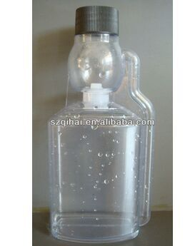 500ml unique shape clear plastic PET dosing fuel oil engine oil additive bottles