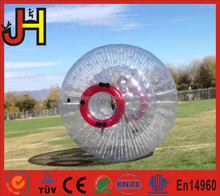 Promotion Giant Inflatable Human Hamster Glass Roller Zorb Ball For Ramp Zorbing