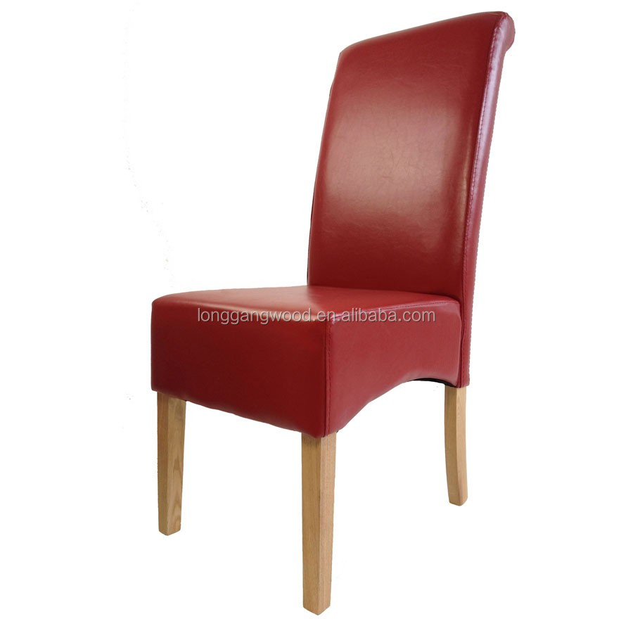 Best selling leather armchair wooden chairs with arms for