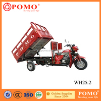 Popular Heavy Load Water Cooled Strong Power Cargo 250cc Reverse 3-Wheel Motorcycle Car