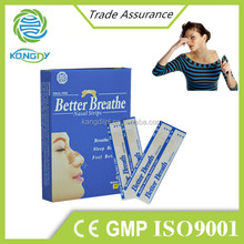 2015 new product CE,ISO certificate anti snore better breath nasal strips,nasal aspirator