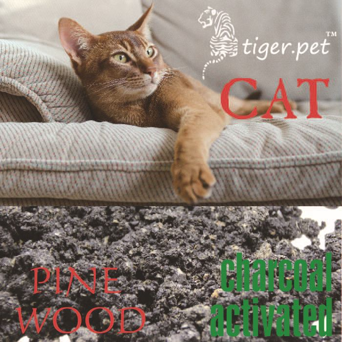 environmentally recycled activated charcoal pine wood cat litter super deodorization ability