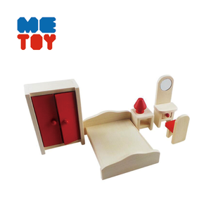 Bedroom kids mini dollhouse miniatures furniture wholesale