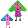 Chinese flying 2m big delta pig modern kites kids