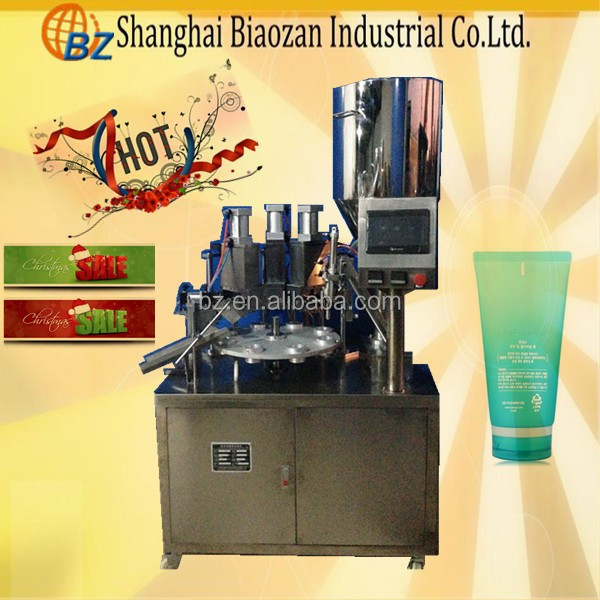manual tube filling and sealing machine for cosmetic/ampoule