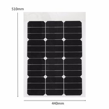 High Quality Cell 40 Watt Semi Flexible Solar Panel for sale