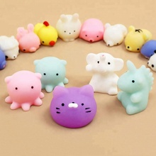 Mini Mochi squishy Toys Party Favors Panda squishy Kawaii Squishy Cat Stress Reliever Toys
