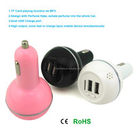 perfume dual usb port 12v car battery charger circuit