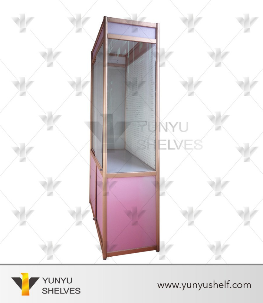 Mall glass display cabinets for jewelry