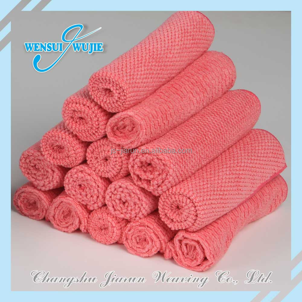 2016 China BSCI Jiarun car care towels promotional microfiber towels wholesale car care product manufacture for car cleaning