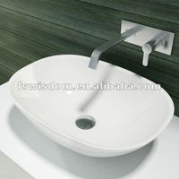 Italian Classic Solid Surface Stone Lavabo WD38202