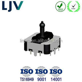 LJV 4 direction seat adjust switch for automotive