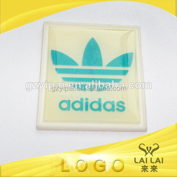 Hot sales eco-friendly plastic customized famous brand handbag logo labels
