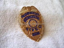 high quality metal badge with safety pin; custom metal badge; brass emblem