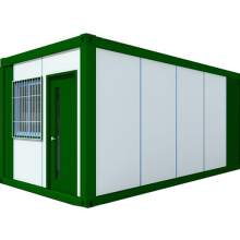 Commercial 20 ft refrigerated container solar powered