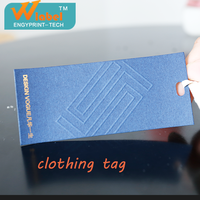 Dongguan top quality ambossed gold stamp clothing for label, clothing tag